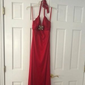 Caché Red Prom Dress